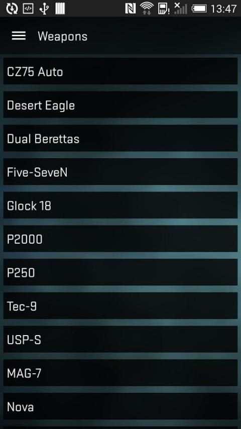 Strike Counter: CSGO Weapons स्क्रीनशॉट 5