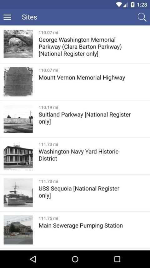 DC Historic Sites screenshot 3