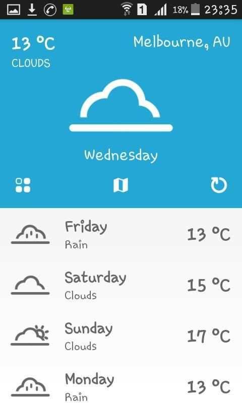 Weather Australia screenshot 3