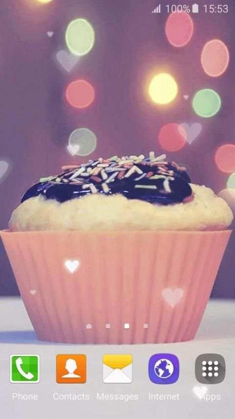Cupcake Live Wallpaper screenshot 4