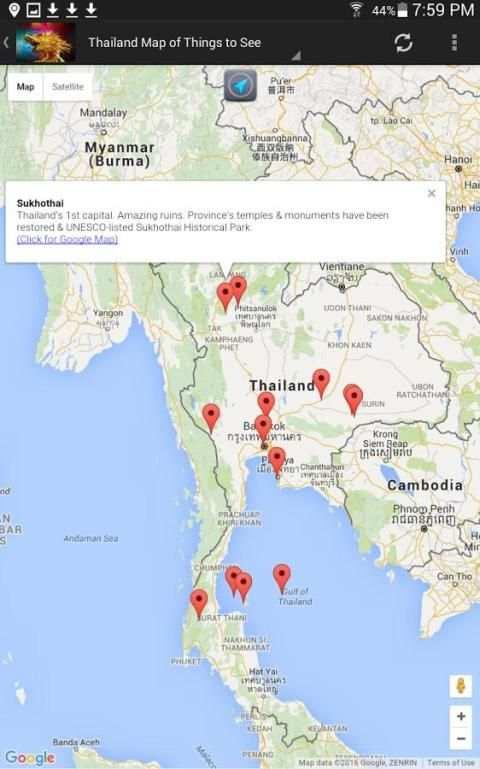Thailand Travel & Hotel Guide 2 تصوير الشاشة