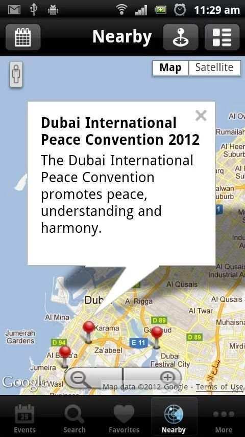 Dubai Calendar screenshot 4