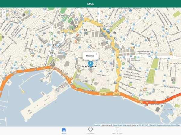 Majorca offline map screenshot 5