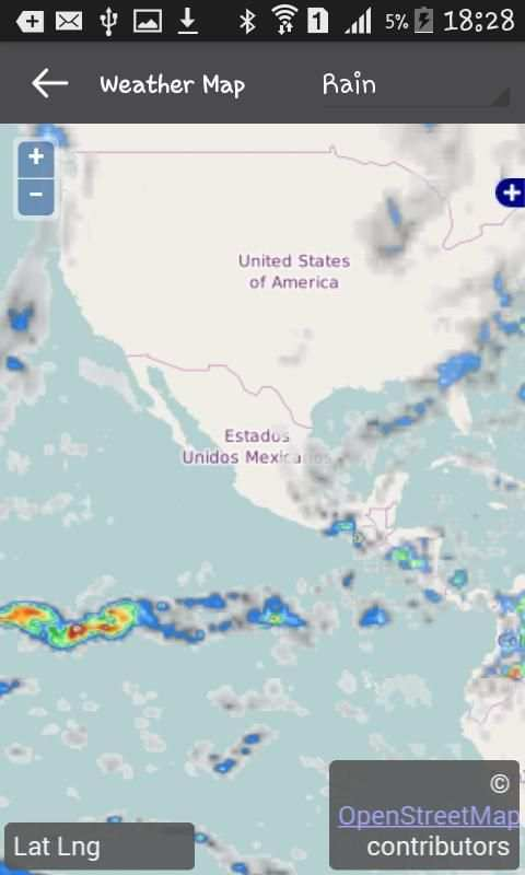 Weather Mexico screenshot 4