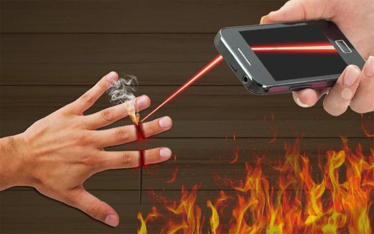 Laser Cut Finger Prank screenshot 5