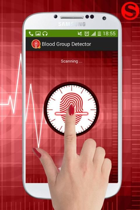 Blood Group Scanner Prank 4 تصوير الشاشة