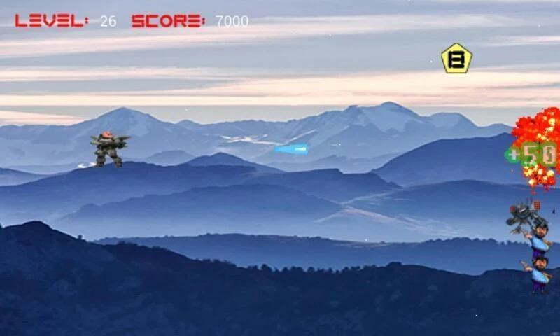 Motu Patlu Battle Space screenshot 5