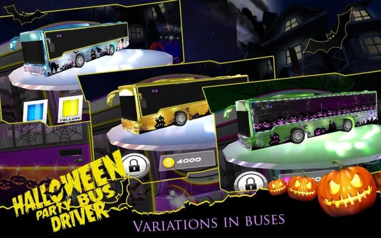 HALLOWEEN PARTY BUS DRIVER screenshot 2