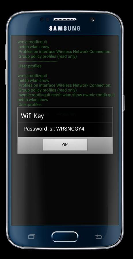 WiFi Password Hack: simulated screenshot 1
