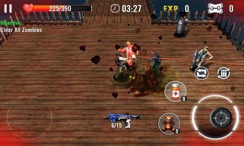Zombie Overkill 3D 2 تصوير الشاشة