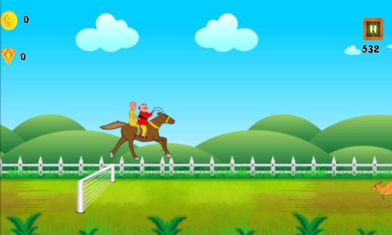 Motu Patlu Unicorn Run screenshot 1
