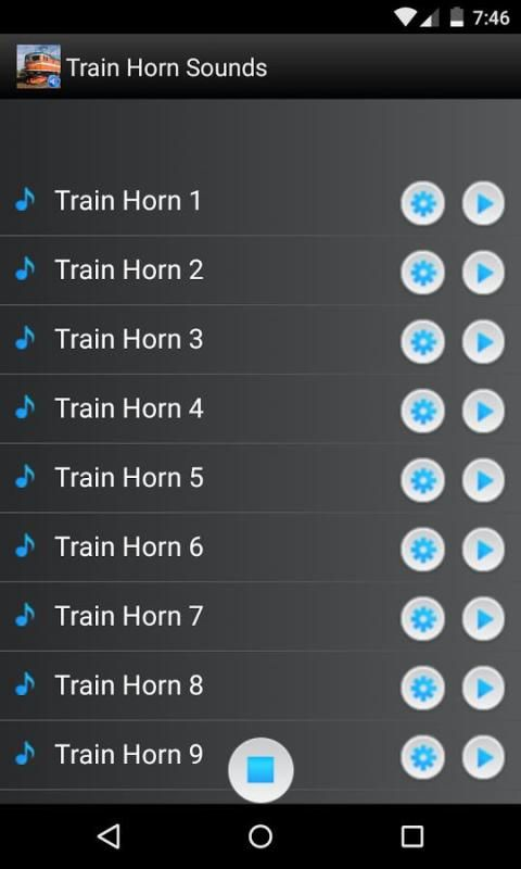 Train Horn Sounds Ringtones screenshot 3