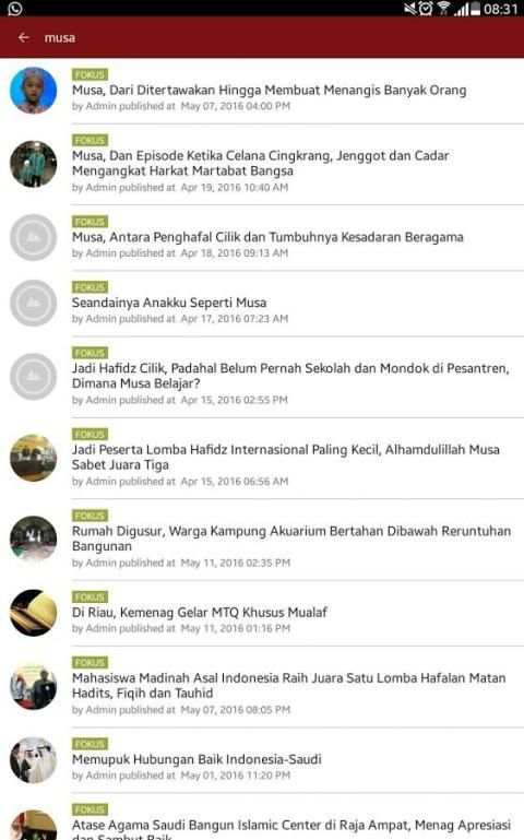 Fokus Islam screenshot 5