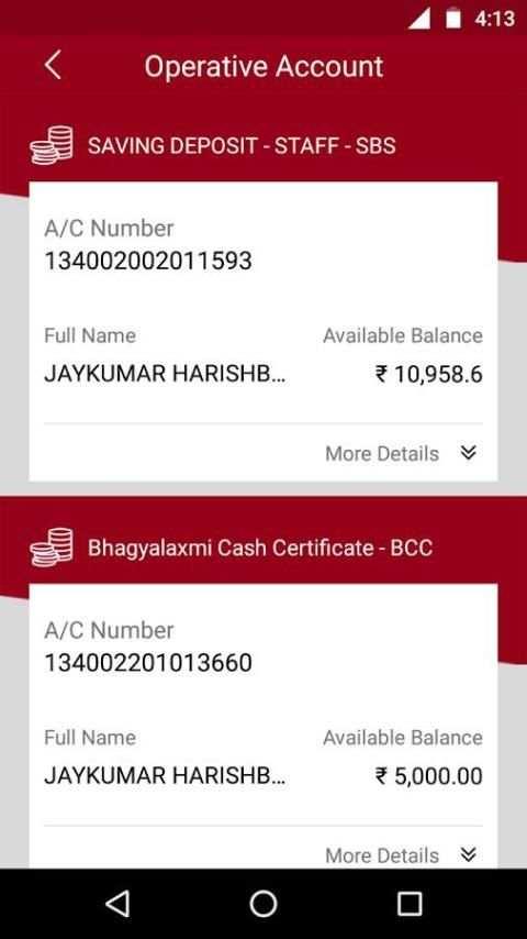 Bhagyodaya Bank скриншот 3