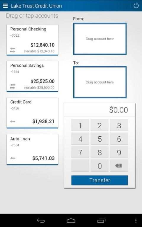 Lake Trust Credit Union screenshot 3