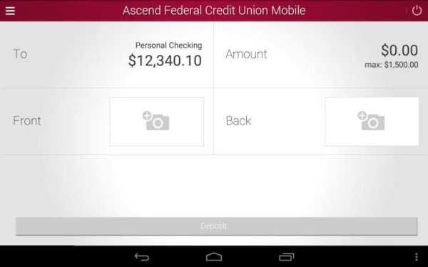 Ascend Federal Credit Union screenshot 1