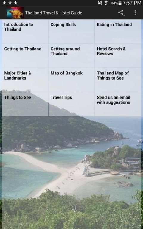 Thailand Travel & Hotel Guide 8 تصوير الشاشة