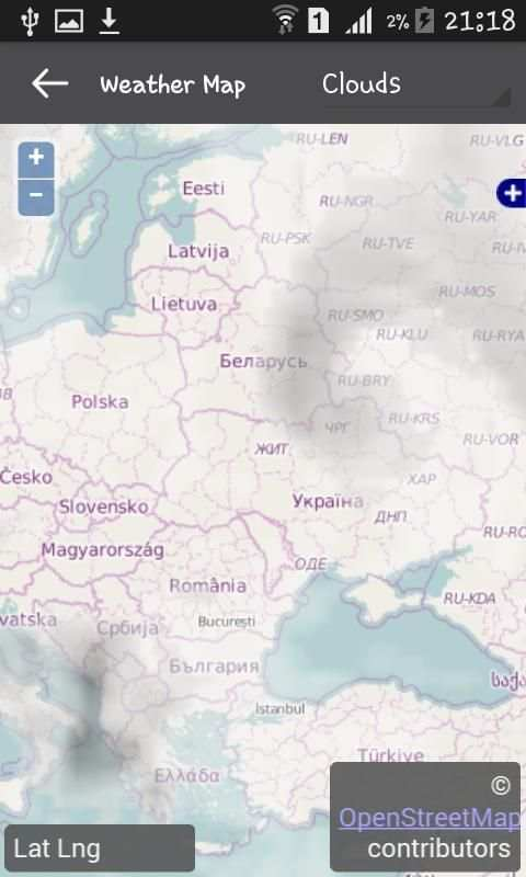 Weather Ukraine screenshot 2