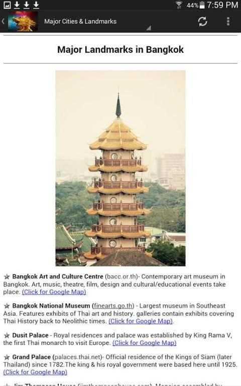 Thailand Travel & Hotel Guide screenshot 1