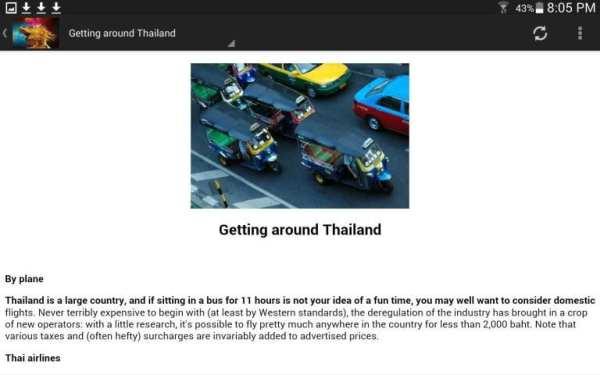 Thailand Travel & Hotel Guide скриншот 11