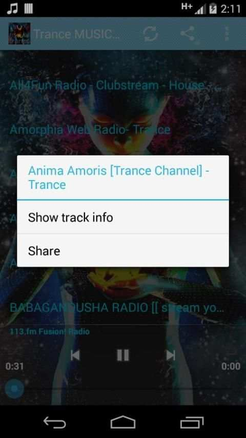 Trance Music ONLINE screenshot 6