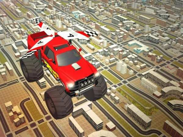 Flying Truck Pilot Driving 3D screenshot 15