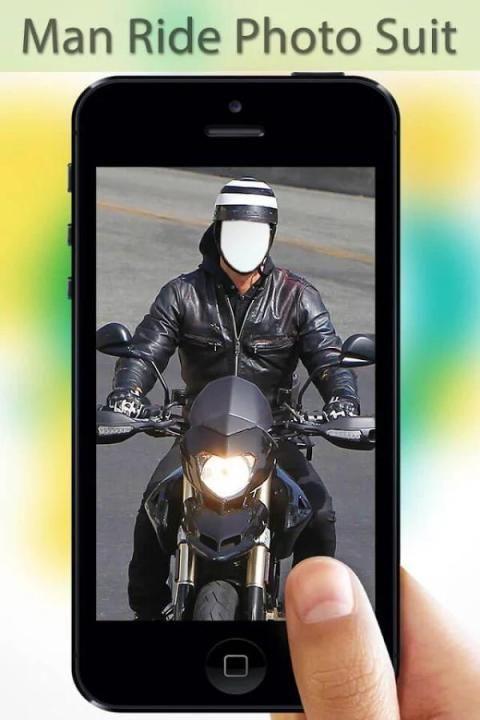 Man Ride Photo Editor screenshot 1