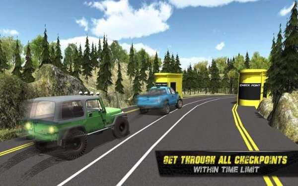 4x4 Offroad Jeep Driving 2016 screenshot 3