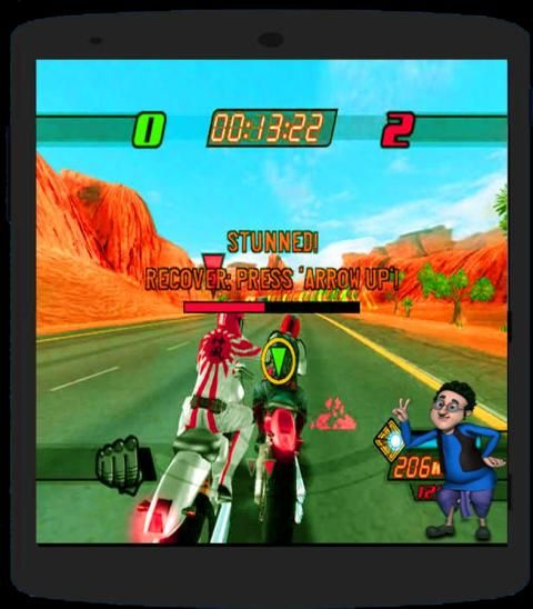 Motu Patlu Bike Cycling screenshot 3