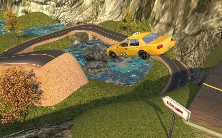 Taxi Simulator Free screenshot 6