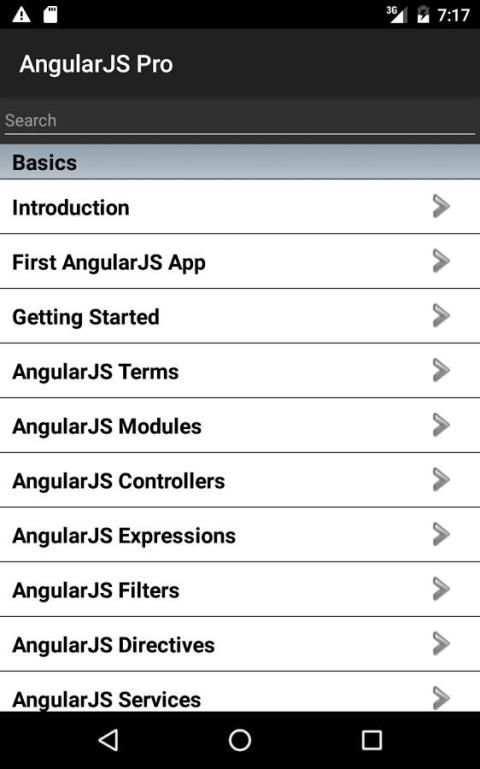 AngularJS Pro Free 5 تصوير الشاشة