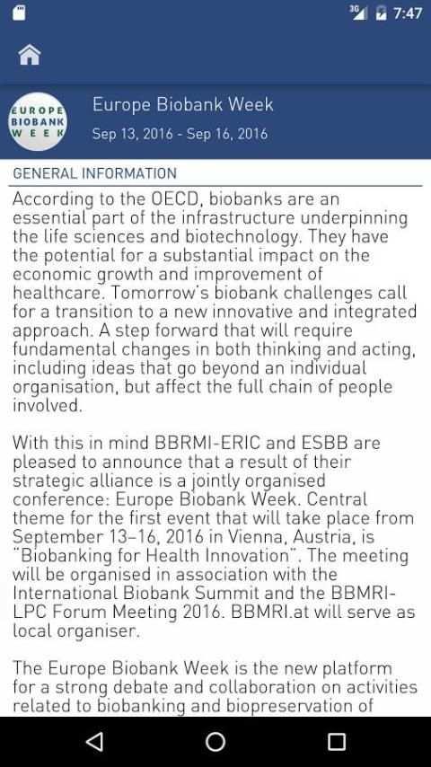 Europe Biobank Week 3 تصوير الشاشة