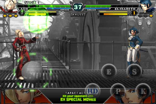 THE KING OF FIGHTERS-A 2012(F) screenshot 3