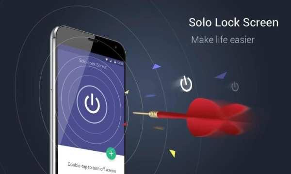 Solo Lock Screen screenshot 1
