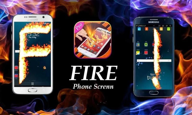 New Fire Screen Prank 2016 screenshot 3