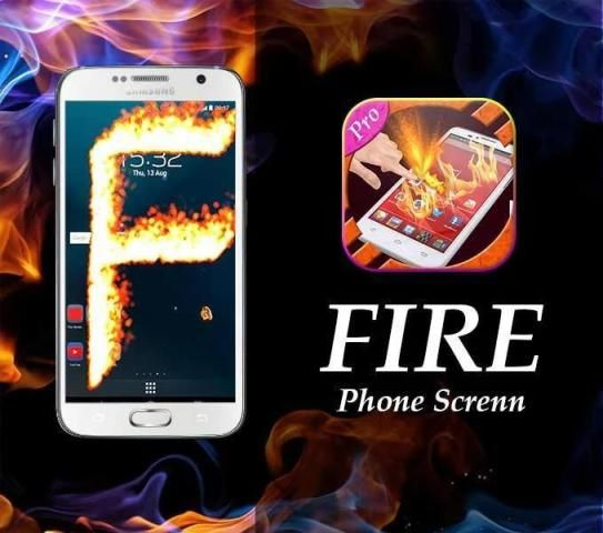 New Fire Screen Prank 2016 screenshot 2