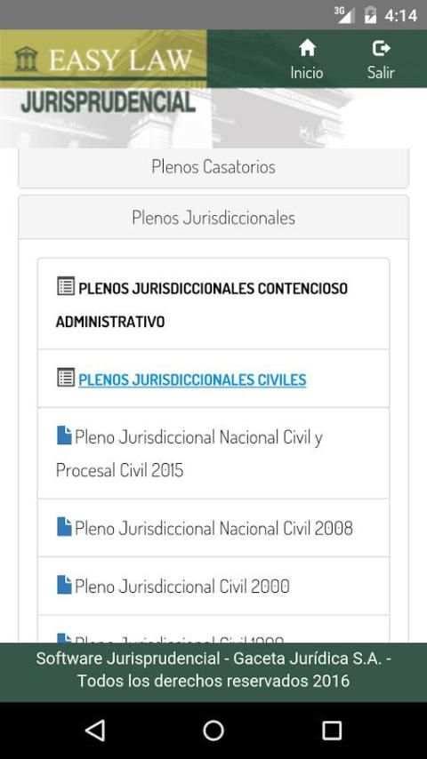 Easy Law Jurisprudencial 5 تصوير الشاشة