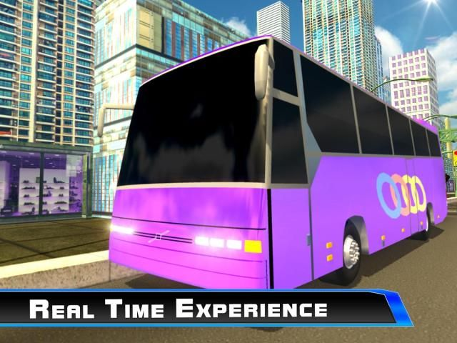 Modern City Tousrist Bus 3D screenshot 1