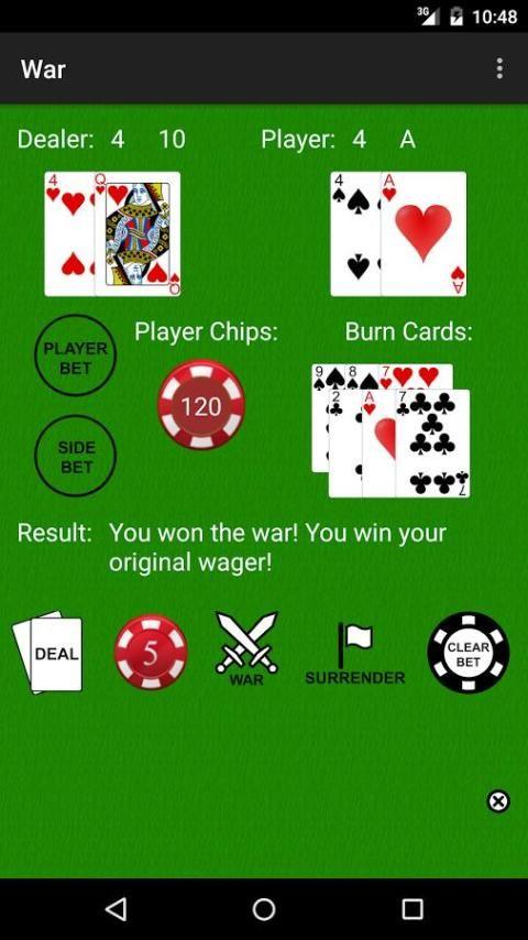 PvC: War [Casino War] 5 تصوير الشاشة
