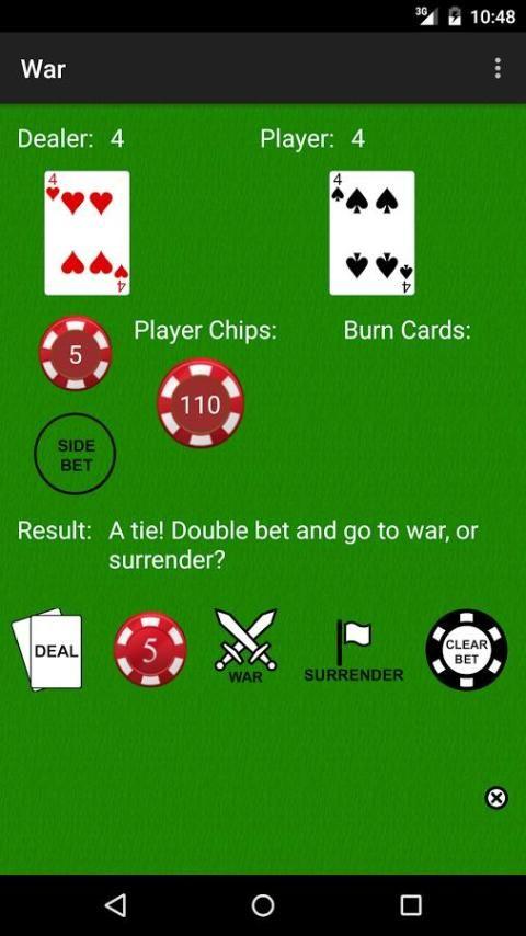 PvC: War [Casino War] 4 تصوير الشاشة