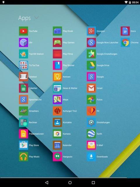 Metro UI Launcher 10 स्क्रीनशॉट 3