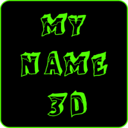 My Name 3D Live Wallpaper أيقونة