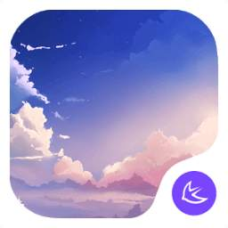 sunset clouds theme for APUS