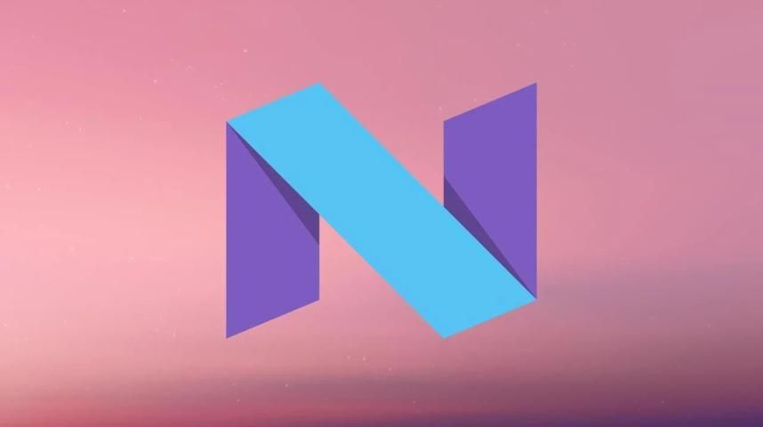 Stock Android N wallpapers screenshot 3