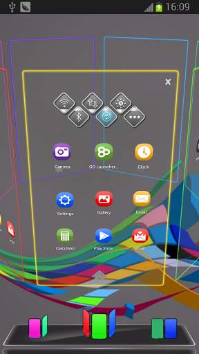 Color Next Launcher 3D Theme screenshot 1