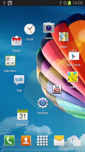 Galaxy S4 Next Launcher Theme screenshot 2