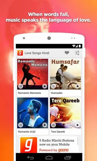 Love Songs Hindi screenshot 1