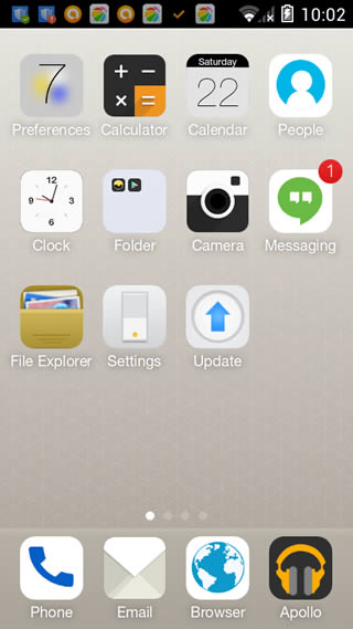 MX launcher (iOS9) screenshot 4