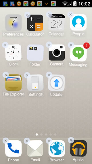 MX launcher (iOS9) screenshot 6