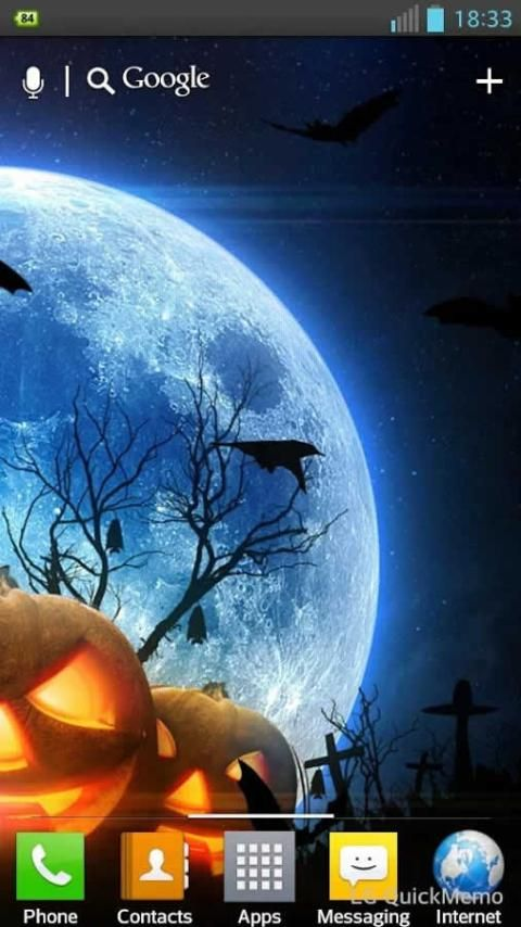Halloween HD Live Wallpaper screenshot 3